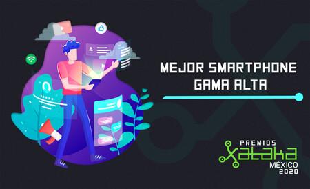 Mejor smartphone gama alta, vota por tu favorito en los premios Xataka México 2020