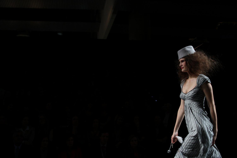 Foto de Alma Aguilar en la Cibeles Madrid Fashion Week Otoño-Invierno 2011/2012 (61/126)