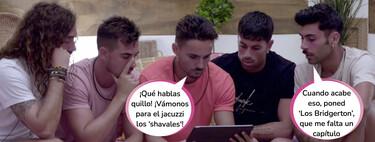 Primera bronca entre los chicos de 'La Isla de las Tentaciones 3': Hugo y Raúl se enfrentan a Jesús por no respetar sus límites