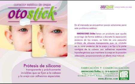 """Otostick es un corrector estético de orejas despegadas premiado por la Obra Social """"la Caixa"""""""