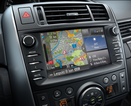 Navegador de Toyota Touch & Go