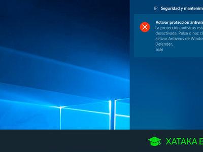 Cómo evitar que Windows Defender te envíe notificaciones todo el rato