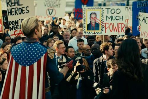 'The Boys' 2x05: El Patriota está cada vez más acorralado en un despiadado episodio sobre el cinismo corporativo de Vought