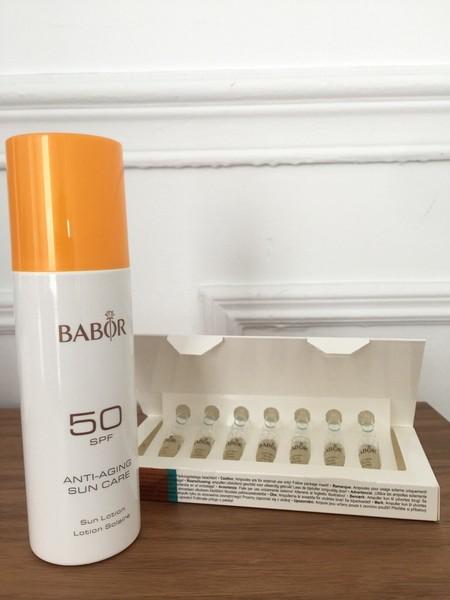 Probamos la protección Anti-Aging de Babor, una manera inteligente de protegerse del sol