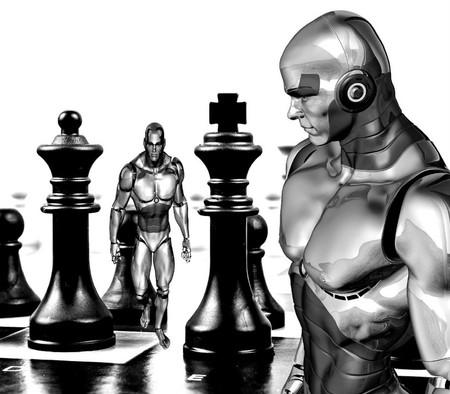 Chess Cyborg Robot Bced4a 1024