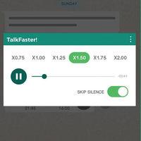 ¿Recibes muchos mensajes de voz en WhatsApp? Entonces te interesa esta app para escucharlos acelerados