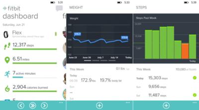 Fitbit ahora está disponible para Windows Phone 8.1