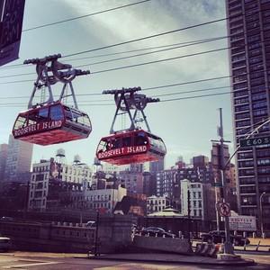 Nueva York: La isla Roosevelt y su teleférico suizo