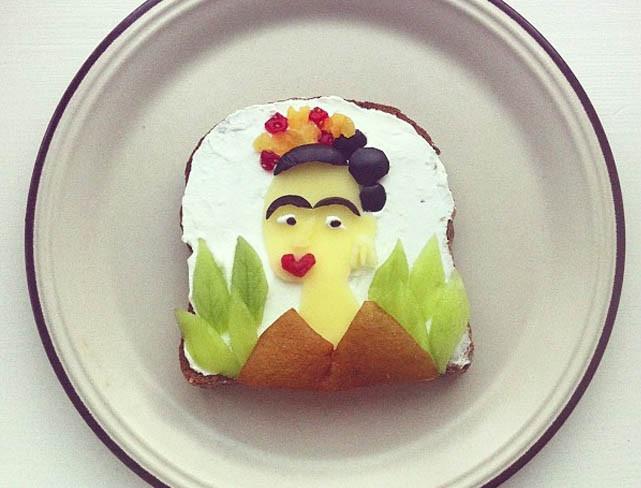 Cómete una obra de arte cada mañana sobre una tostada con Ida Skivenes