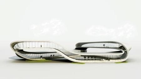 Impresoras 3D para fabricar una curiosa vivienda llamada Landscape House