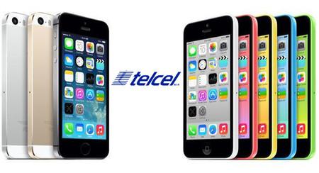 iPhone 5S y 5C en México, precios y planes con Telcel