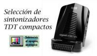 Sintonizadores TDT compactos, selección de modelos
