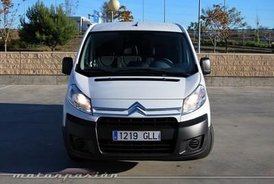 Citroën Jumpy Furgón 2.0 HDi blanca, prueba (parte 3)