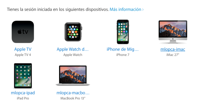 Apple Id Dispositivos