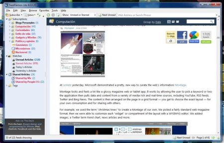 """FeedDemon 4.0, el lector RSS de escritorio se vuelve """"Freemium"""""""