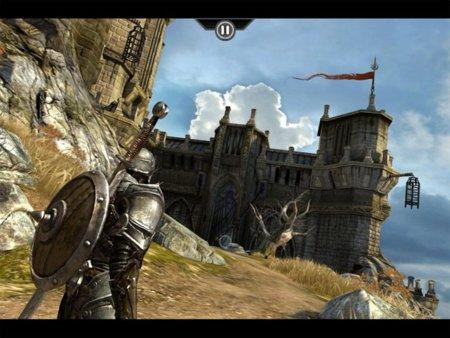 iPad 2 gráficos videojuegos Infinity Blade