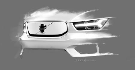 Volvo nos muestra las primeras imágenes de cómo será el nuevo XC40 eléctrico