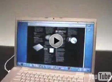 Vídeo de 15 minutos de la MacBook Pro