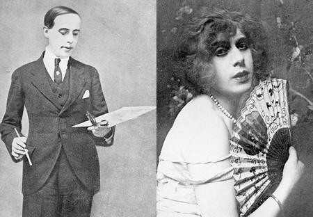 Einar Wegener y Lili Elbe