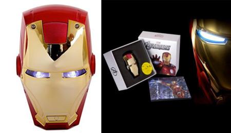 Batería con forma de Iron Man