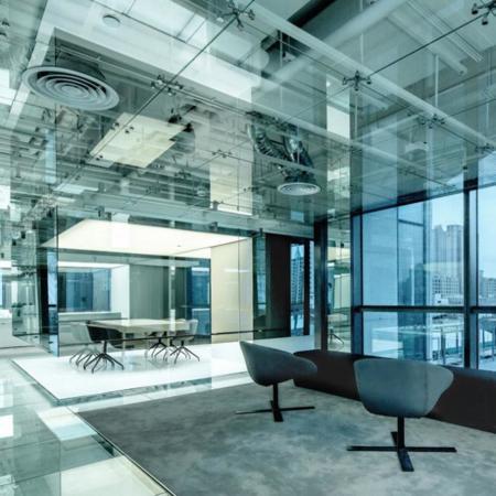 Las oficinas de cristal de SOHO en Shangai no tienen nada que esconder
