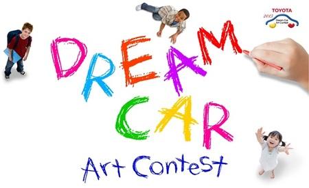 Toyota invita a los niños a dibujar el coche futuro de sus sueños