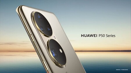 Huawei P50 Imagen Oficial Diseno Camaras