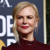 Nicole Kidman se suma a los lazos de terciopelo (y acierta) en los Globos de Oro 2019