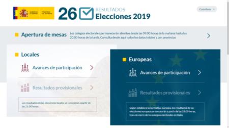 Elecciones Web