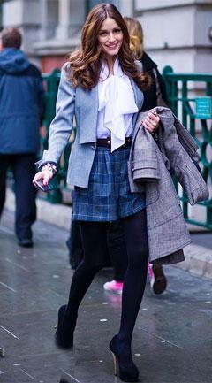 ¿Es Olivia Palermo o Blair Waldorf? Sus estilos en la Semana de la Moda de Londres