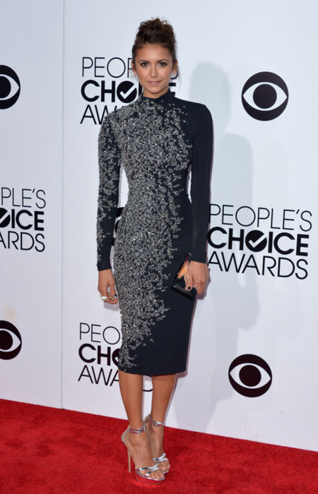 Nina Dobrev Peoples Choice Awards 2014