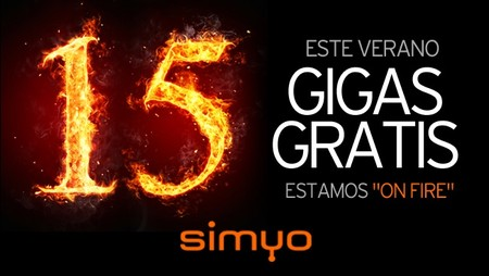 Las primeras promociones verano anticipan una lluvia de gigas: Simyo regala un bono de 15 GB