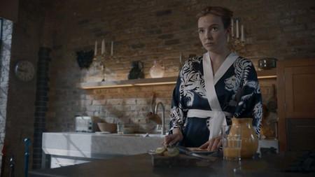 Look Killing Eve Kimono Azul