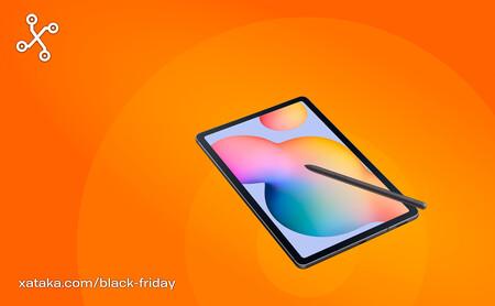 La Samsung Galaxy Tab S6 Lite para estudiar y entretenimiento por 289 euros es un chollo en el Black Friday de PcComponentes