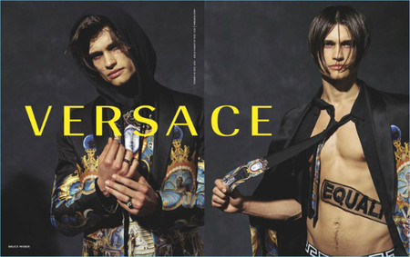 Versace Fall Winter 2017 Mens Campaign 001