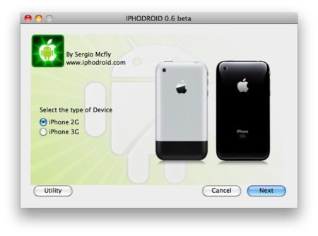 Instalar fácilmente Android en un iPhone ya es posible con iPhodroid