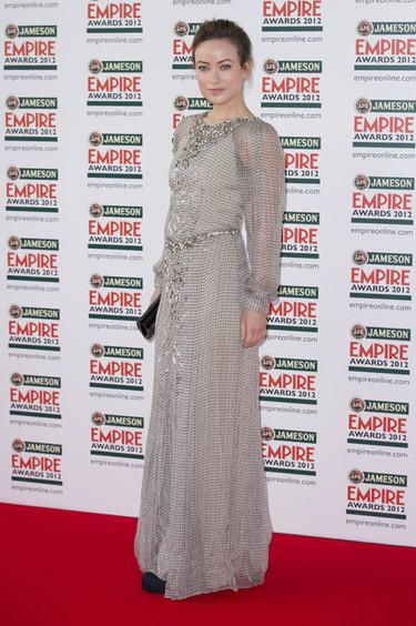 Olivia Wilde y Agyness Deyn en los Premios Empire 2012