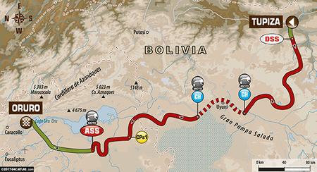 Etapa 5 Dakar