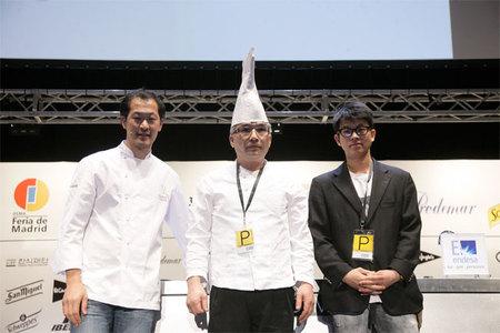 Los cocineros coreanos de Madrid Fusión