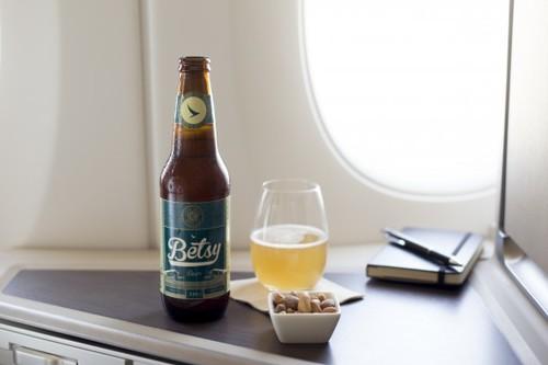 Esta cerveza está específicamente diseñada para consumirse en un avión