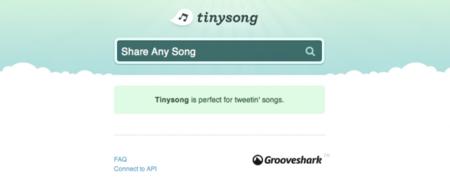 Tinysong: twittea tus canciones favoritas y reprodúcelas en Grooveshark
