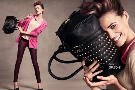 pantalones granates H&M