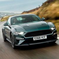 El Ford Mustang Bullitt cabalga por las carreteras de la Isla de Man