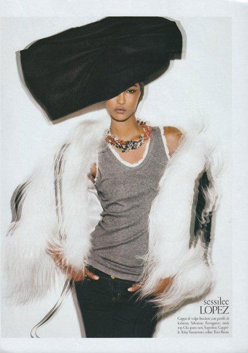 Foto de Sessilee Lopez, ¿La nueva Tyra Banks? (9/18)