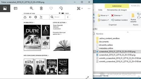 Captura En Kindle