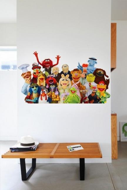 Vinilos de los Teleñecos para las habitaciones infantiles