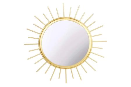 Sass Belle Gold Sunburst Mirror Importacion Inglesa