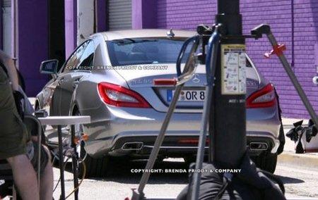 Nuevo Mercedes CLS, me pareció ver un lindo prototipo