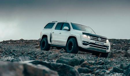 Volkswagen Amarok AT35 o el abominable pick-up de las nieves, firmado por Arctic Trucks