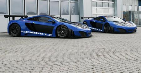 Para Reyes...dos McLaren MP4-12C GT3 de Gemballa Racing